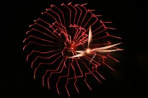 Fireworks at Suzuka